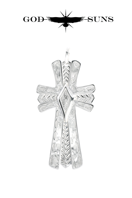 GIZA CROSS PENDANT(Large)
