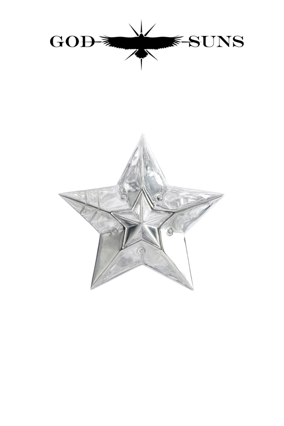 DOUBLE LINE STAR PENDANT(Large)