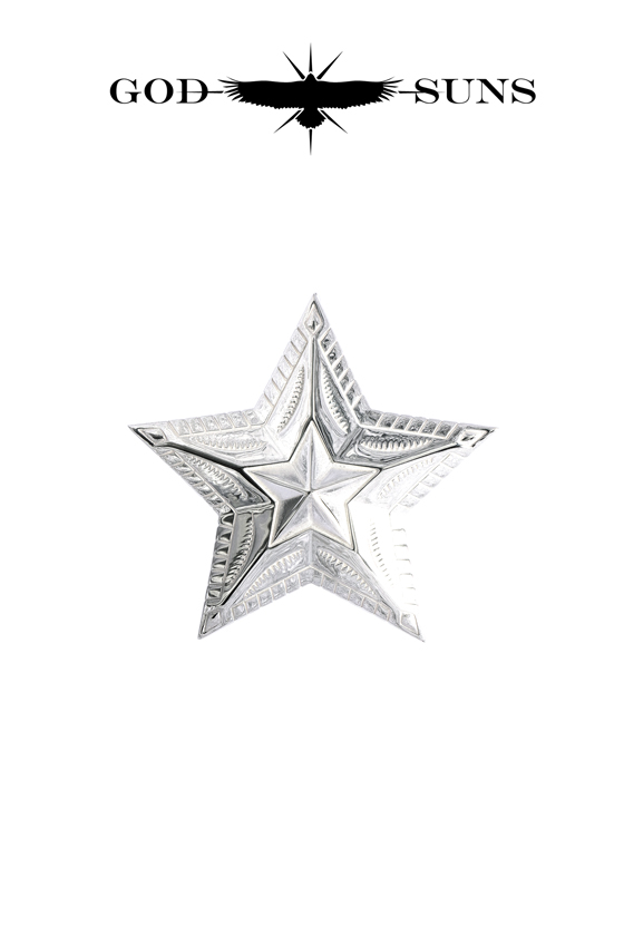 NATIVE ART STAR PENDANT(Large)
