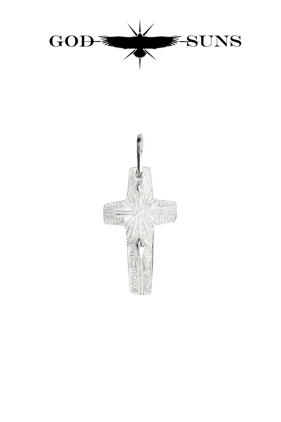 FLAP EAGLE CROSS PENDANT(small)