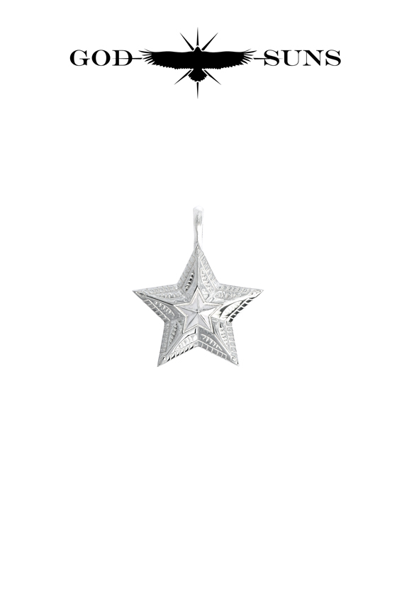 NATIVE ART STAR PENDANT(Medium)