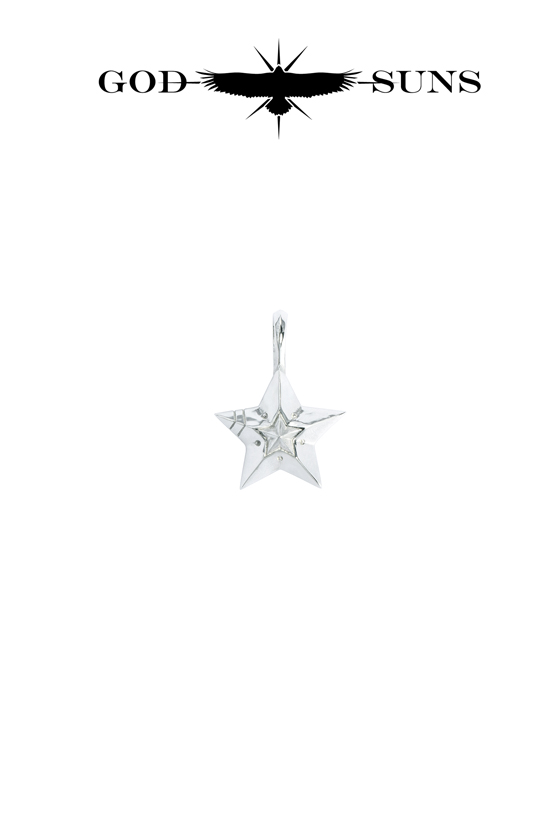 DOUBLE LINE STAR PENDANT(small)