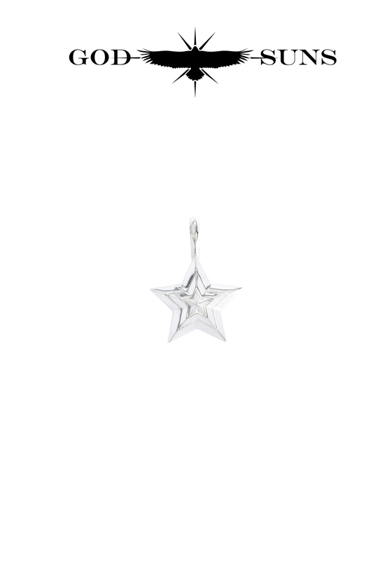 TRIPLE LINE STAR PENDANT(small)
