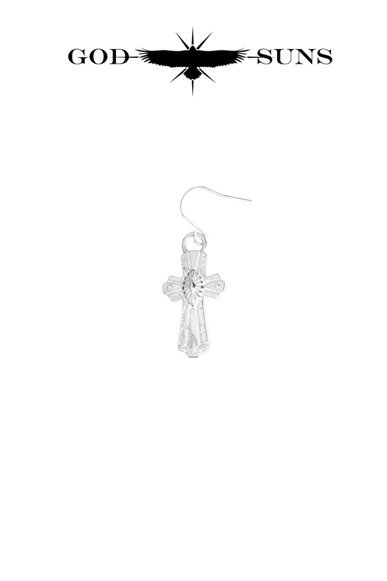 CONCHO CROSS PIERCE(Large)