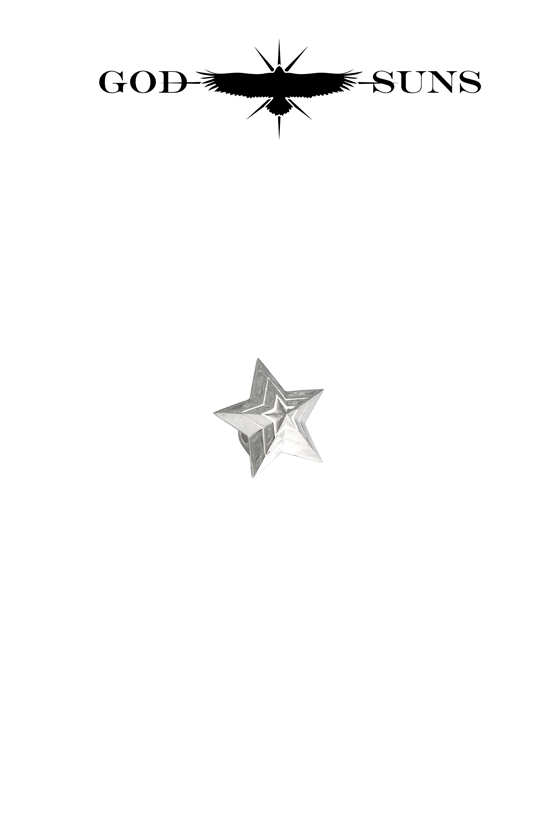 TRIPLE LINE STAR BEAD(Large)