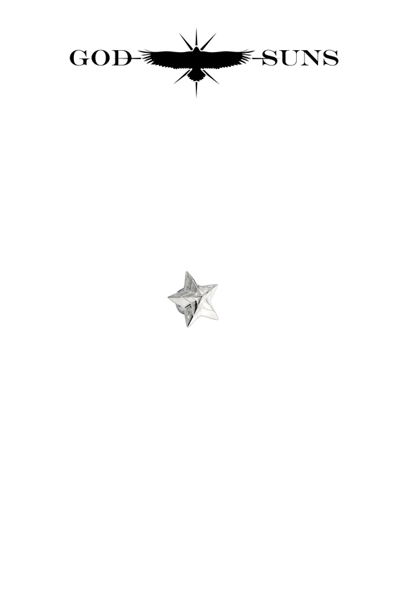 TRIPLE LINE STAR BEAD(Small)