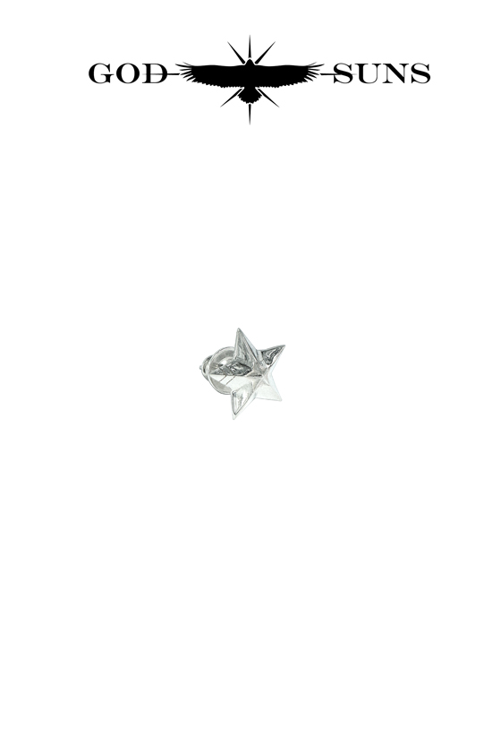 DOUBLE LINE STAR PIERCE(Large)
