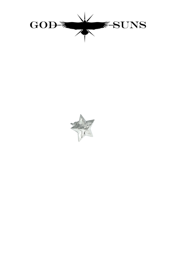 TRIPLE LINE STAR PIERCE(Small)