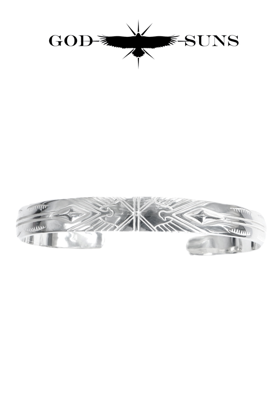 ALIGHT EAGLE CROSS BANGLE