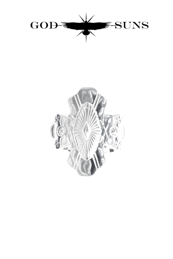 CONCHO CROSS RING(Large)