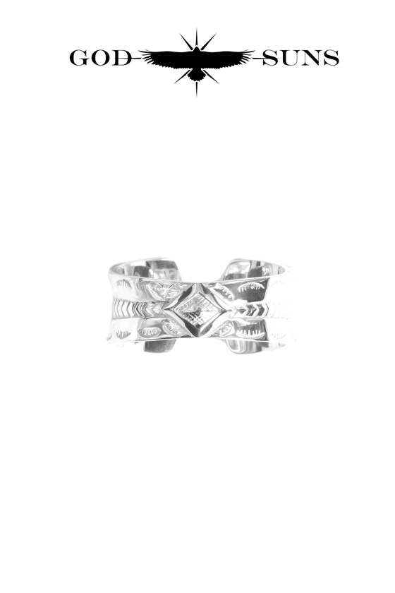 GIZA EAGLE CROSS RING(Large)