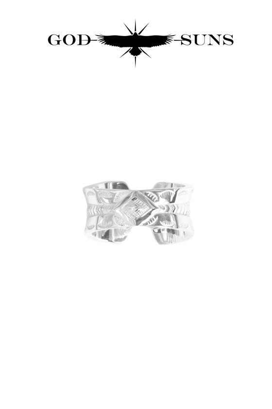 GIZA CROSS RING(Medium) Ladies