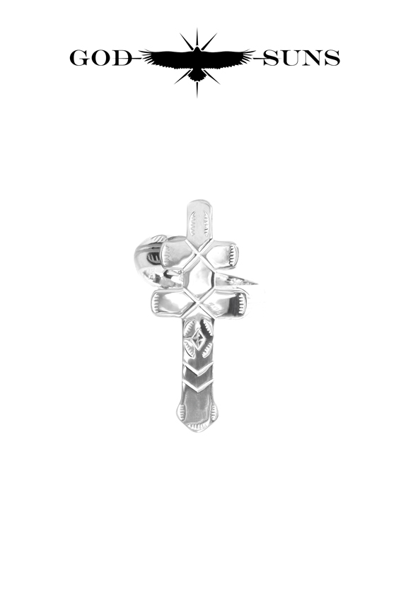 DRAGONFLY CROSS RING(Large)
