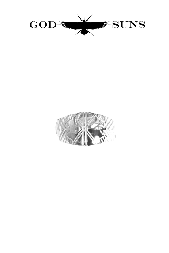 ALIGHT EAGLE CROSS RING(Small)