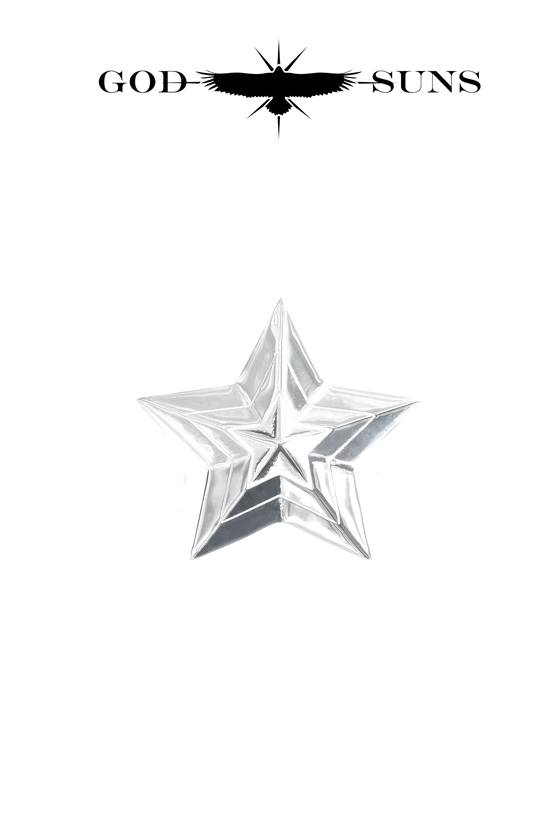 TRIPLE LINE STAR RING(Large)