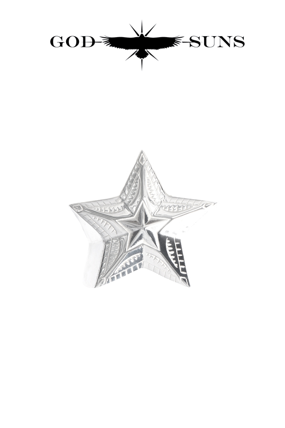 NATIVE ART STAR RING(Large)