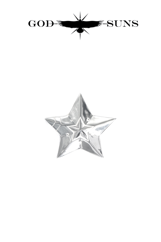 DOUBLE LINE STAR RING(Medium)