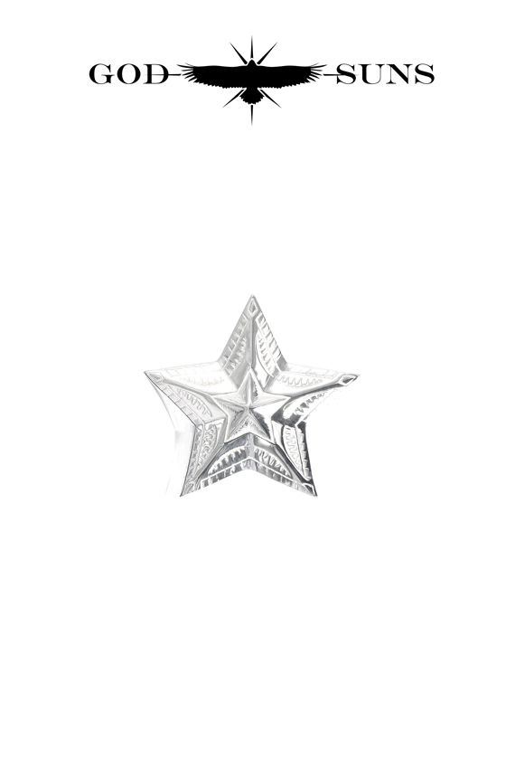 NATIVE ART STAR RING(Medium)