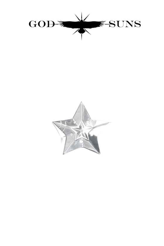 DOUBLE LINE STAR RING(Small)