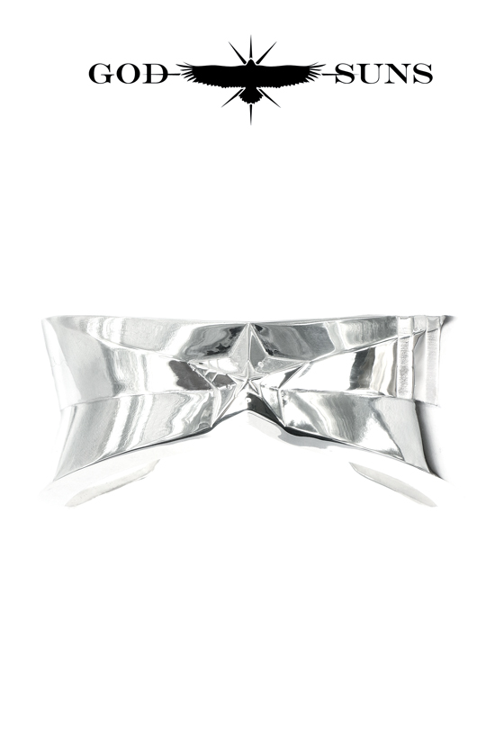 DOUBLE LINE STAR BANGLE