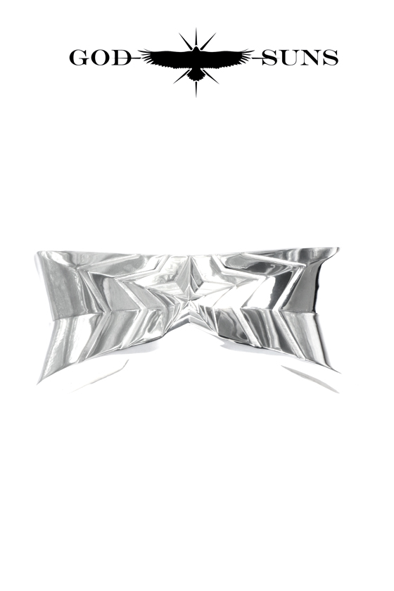 TRIPLE LINE STAR BANGLE