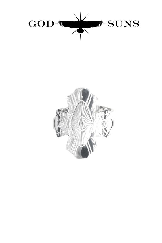 CONCHO CROSS TQ RING(Medium)