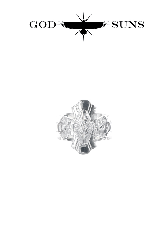 CONCHO CROSS TQ RING(Small)