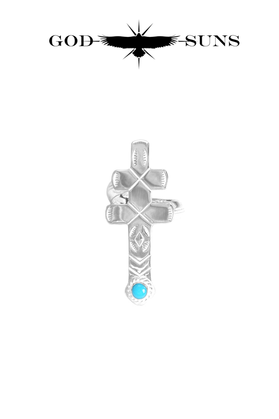 DRAGONFLY CROSS TQ RING(Small)
